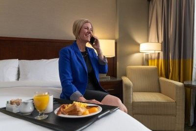Commercial photoshoot for Doubletree Hotel by Hilton