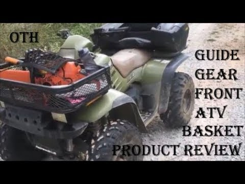 Guide Gear Front ATV Basket ~ Product Review