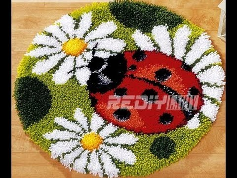 Diamond Painting – Product Review 35 THERE IS A LADYBUG ON MY RUG!!!