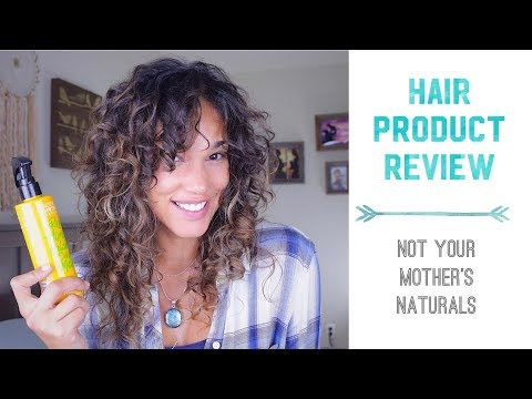 Curly to wavy hair – Product Review – Not Your Mother's Naturals Leave-In