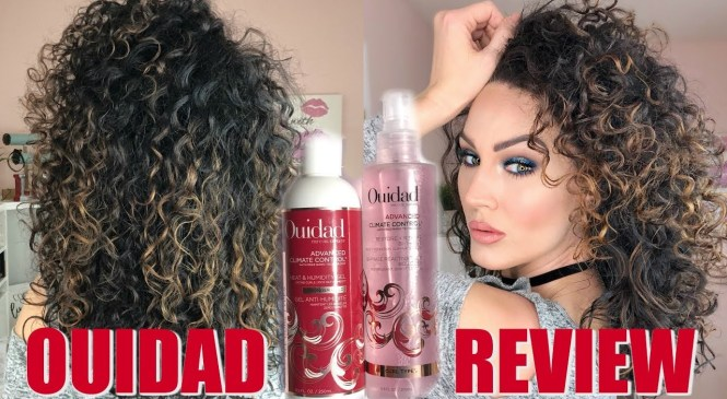 OUIDAD PRODUCT REVIEW FOR CURLY HAIR | The Glam Belle