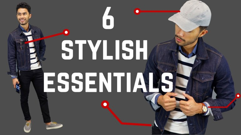 6 Accessories No Stylish Man Leaves Behind