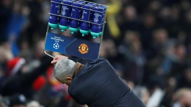 No action over Mourinho 'flying drink bottles' celebration