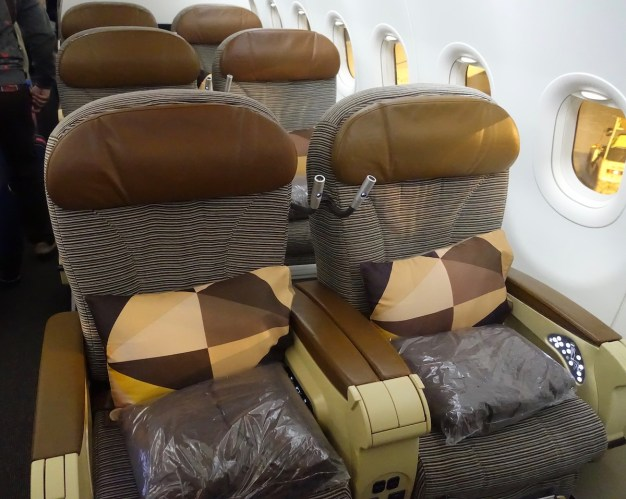 Review: Etihad Business Class A320 Abu Dhabi To Ahmedabad
