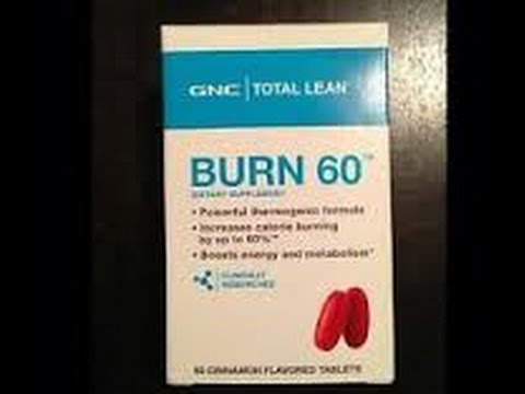 Product Review: GNC Burn 60 Supplement