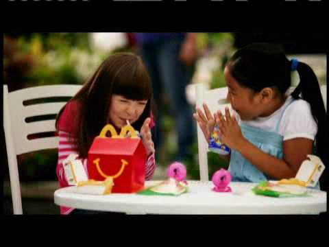 2009 Happy Meal Barbie Fashion Accessories McDonalds Commercial