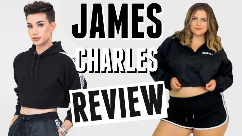 Brutally Honest Review of James Charles Clothing Line- Sisters Apparel
