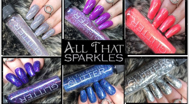 All That Sparkles Glitter – Products Review & Demonstration