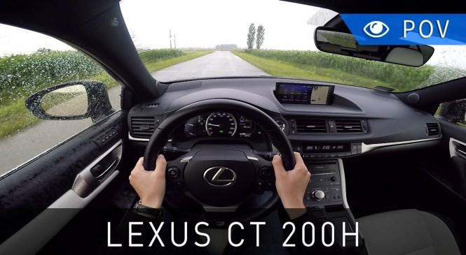Lexus CT 200h F Sport (2018) – POV Drive   Project Automotive