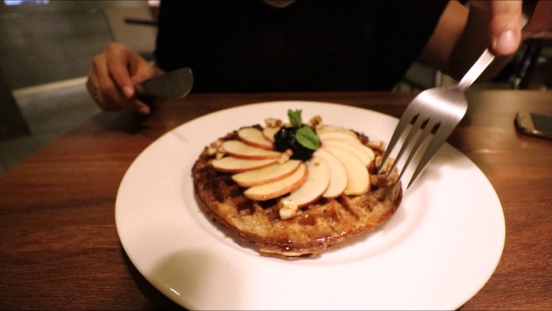 Beverage Review & Tasting off-the-menu Waffle | TIEN | Pune