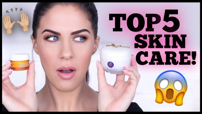 TOP 5 SKINCARE PRODUCTS THAT ACTUALLY WORK!!!! LITERALLY LIFE CHANGING!!!!