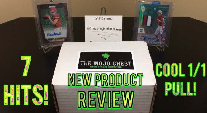 The Mojo Chest – October's Touchdown Chest – New Product Review! 7 Hits! Cool 1/1 Hit!
