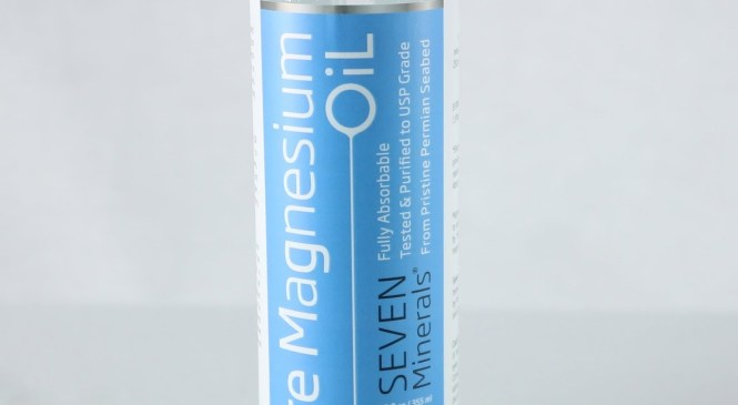 Product Review 2018 – Unboxing Seven Minerals Pure Magnesium Spray