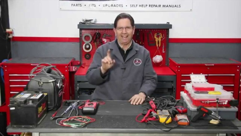 Part 1 Automotive Electrical Wiring and Troubleshooting: Introduction w / Kent Bergsma
