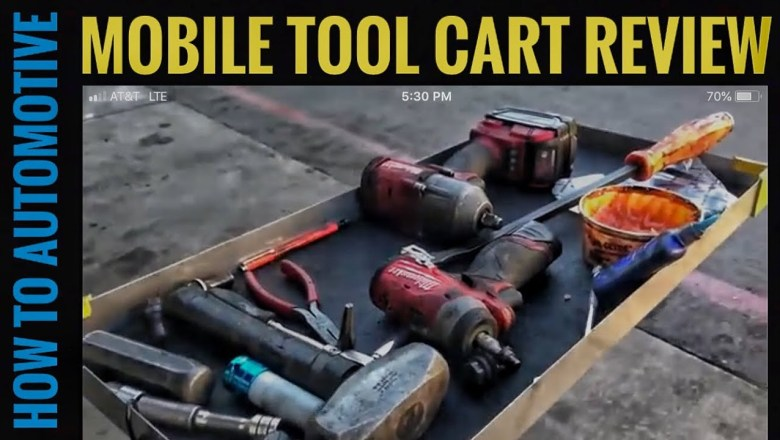 How to Automotive's Tool Review of Keysco Mobile Tool Cart