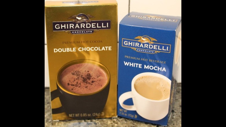 Ghirardelli: Double Chocolate Hot Cocoa & White Mocha Hot Beverage Review