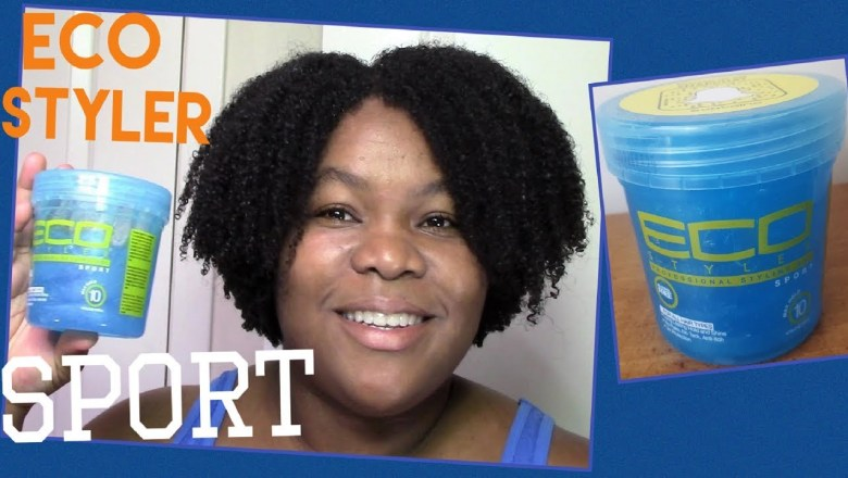 Natural Hair product review: Eco Styler Sport! Most MOISTURIZING ECO! ~ TriniGirlNatural