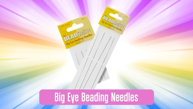 [Product Review] Beadsmith Big Eye Beading Needles review