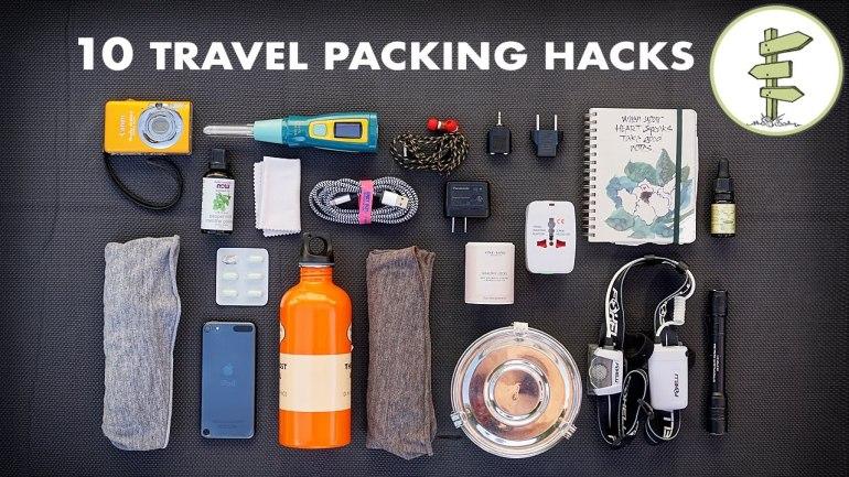 10 Essential Travel Packing Tips & Hacks – Minimalist Traveling