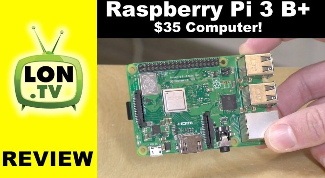 Raspberry Pi 3 B+ Review – A functional $35 computer! And network benchmarks