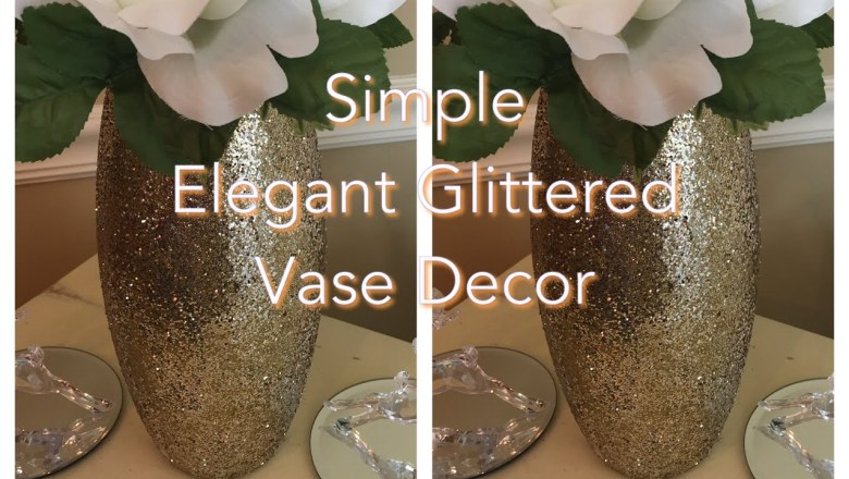 Glam Vase DIY || Holiday Entertaining Series || Product Review