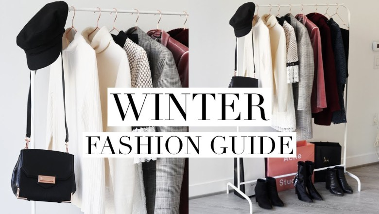 WINTER FASHION GUIDE 2018 | Favorite Trends & Wardrobe Basics
