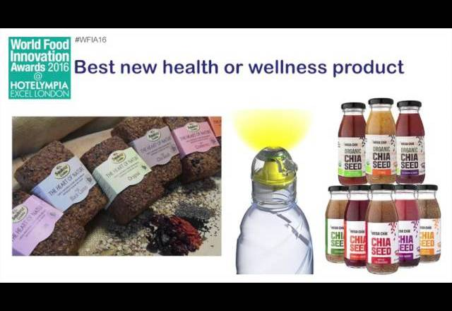 World Food Innovation Awards – best new health or wellness product