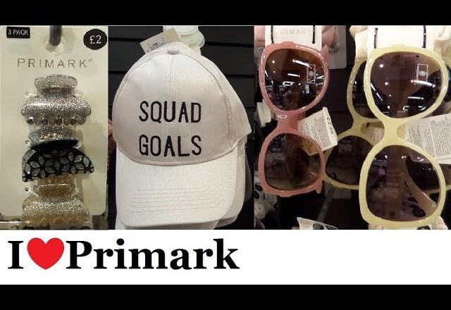 Primark Fashion Accessories  | May 2018 | I❤Primark
