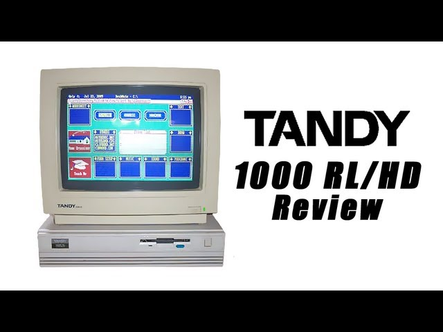 LGR – Tandy 1000 Vintage Computer System Review