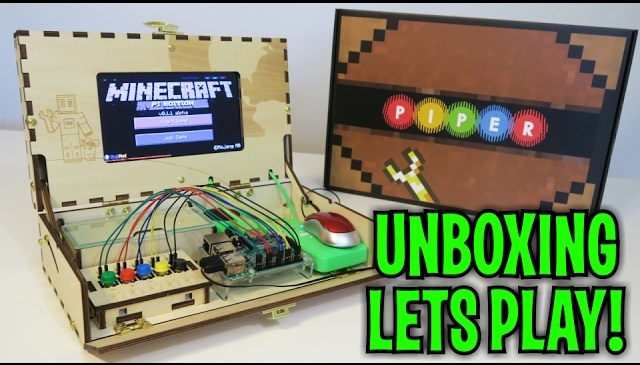 Unboxing & Let's Play : PIPER – MINECRAFT Computer Kit STEM (FULL REVIEW!)