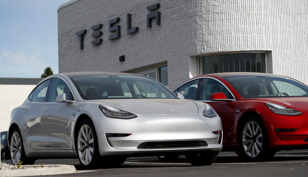 Tesla to Halt Production of Model 3 Cars Temporarily
