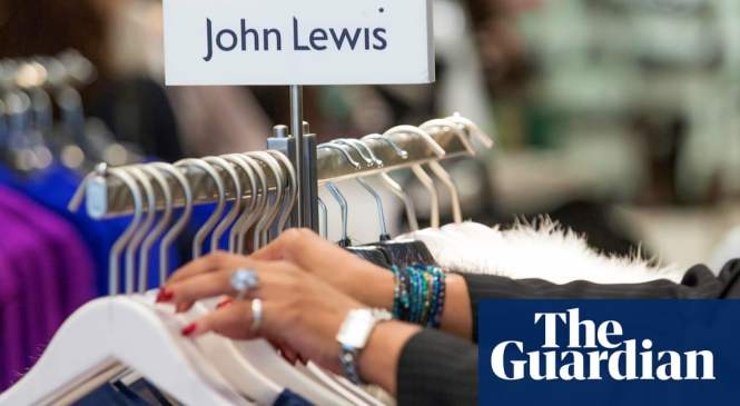 John Lewis sales rebound as it cuts clothing prices