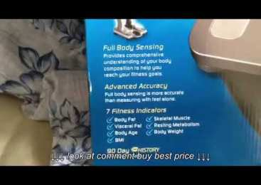 Fitness   Product review: Omron scale review