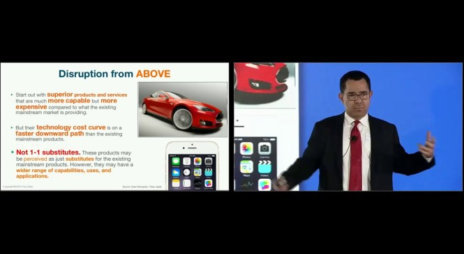 The Edge of Disruption – Automotive, Petroleum and Steel Industries – Tony Seba