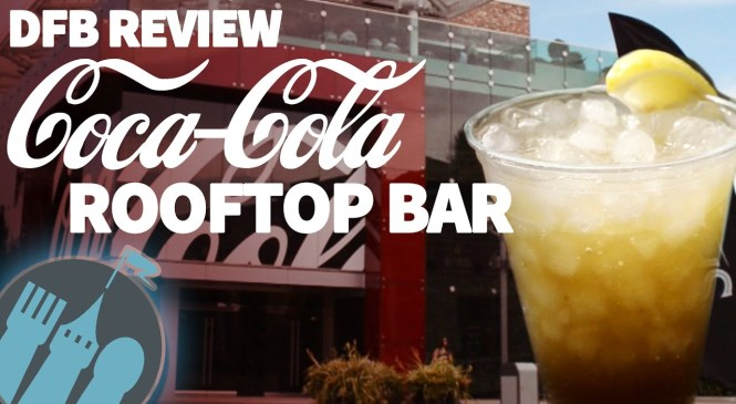 DFB Review: Coca-Cola Rooftop Beverage Bar