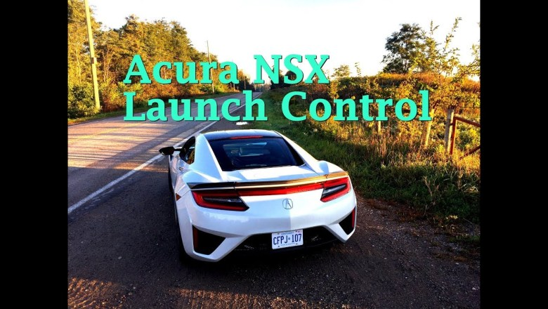 How to use Launch Control on the 2018 Acura NSX – by Automotive Affairs