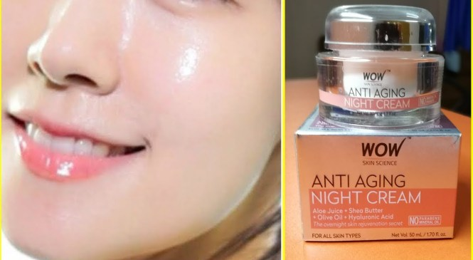 Get Youthful Glowing tight Skin With WOW ANTI-AGEING NIGHT CREAM | Best Night Cream In India