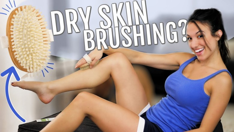 WHAT IS BODY BRUSHING? Dry Brush Product Review