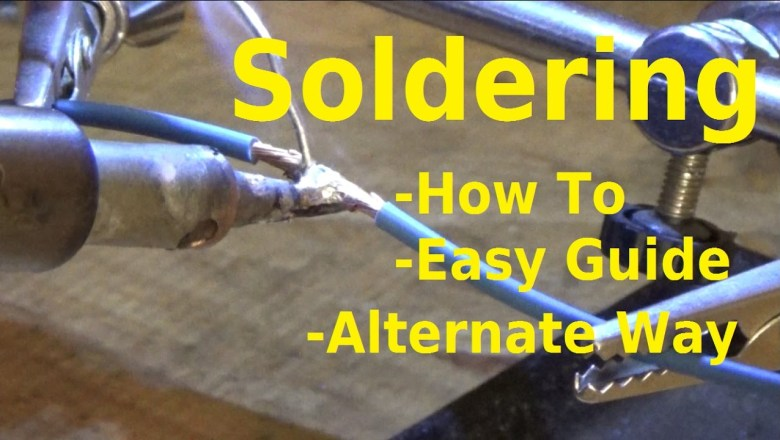 How to Solder Wires – Wire Repair – Automotive Education