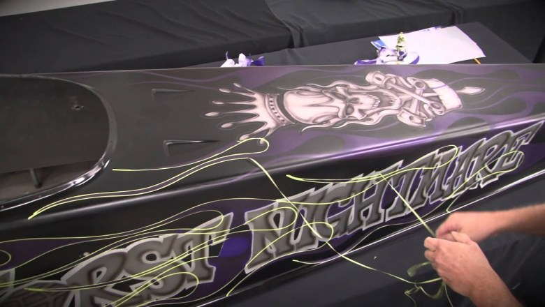 Automotive Airbrush Graphics & Custom Paint with Steve Vandemon