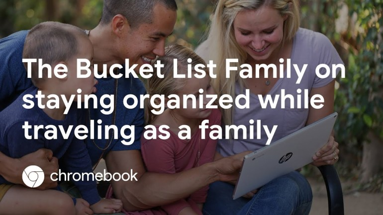 How to Stay Organized While Traveling as a Family with The Bucket List Family – Chromebook