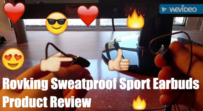 Rovking Workout Sweat Proof Sport Earbuds Product Review. BEST EARPHONES???