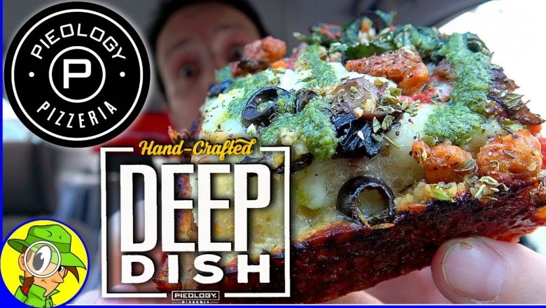 Pieology® | Hand Crafted Deep Dish Pizza | Food Review! 🔥🍕🔥