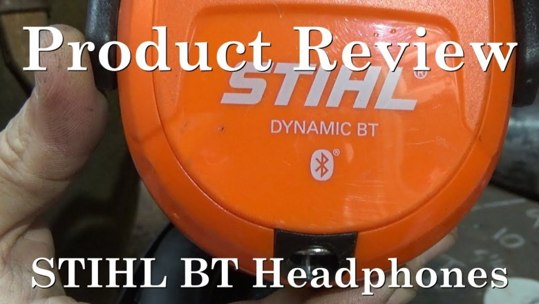 STIHL Bluetooth Headphones Product Review.