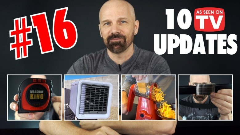 10 As Seen on TV Product Review Updates, Part 16