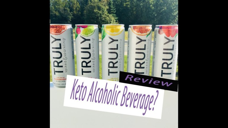"""""""TRULY""""  Keto Friendly Adult Beverage Review"""
