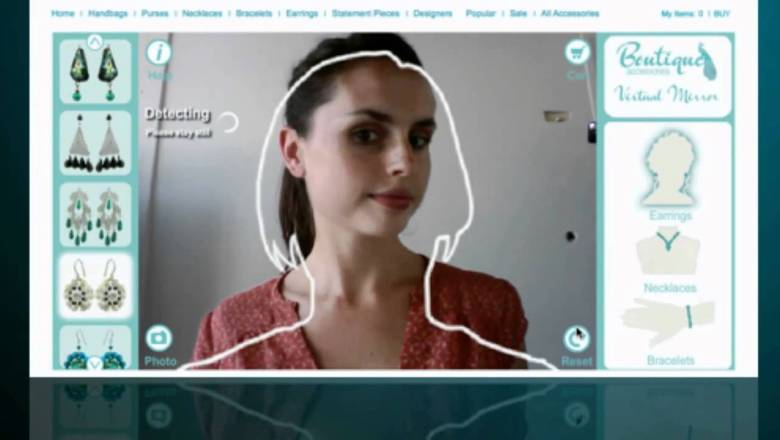 Fashion accessories augmented reality | virtual mirror