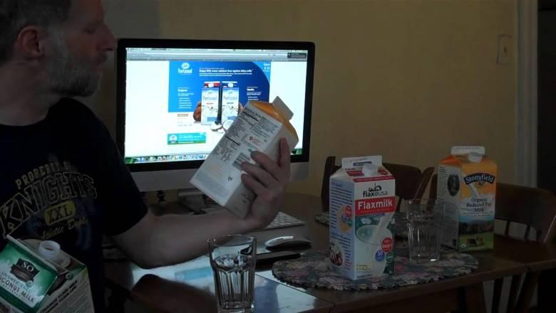 Cooking Alex – Dairy and Non-dairy Beverage Review