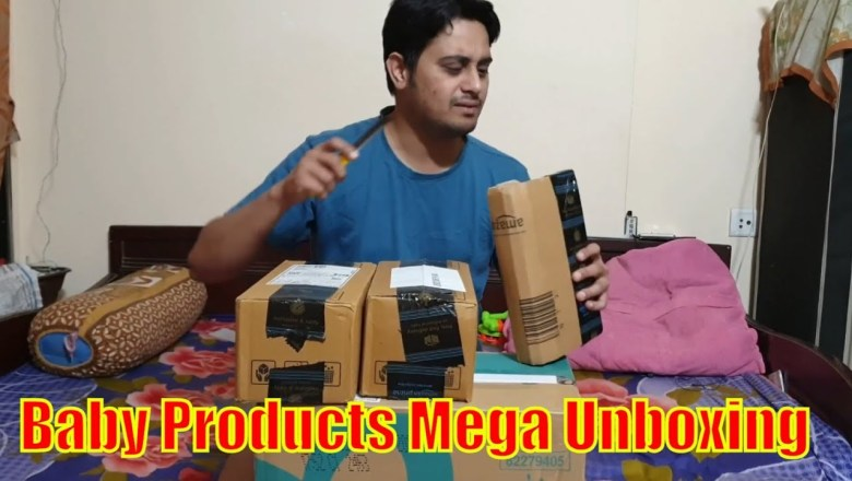 Mega Unboxing | Baby Products | Parenting Tips | Himalaya Baby Products | Baby Product Review 🔥🔥🔥