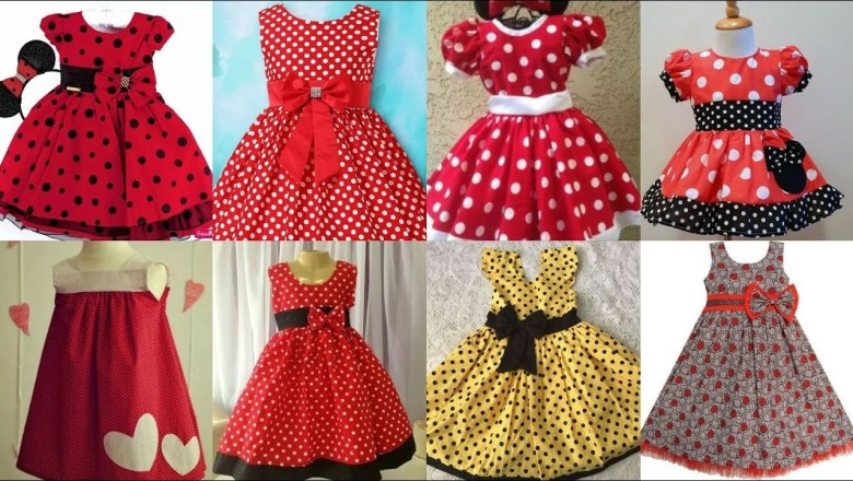 Baby Frocks Doted Dressed Fashion Trend 2019